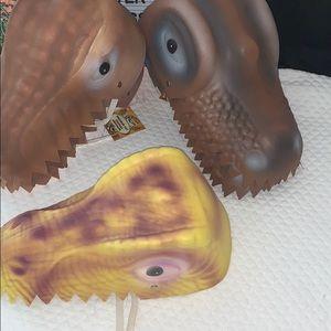 7- Dinosaur 🦖 Soft Party Hats